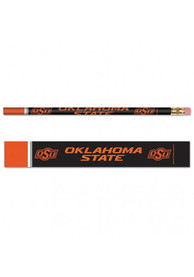 Oklahoma State Cowboys 6 Pack Pencil