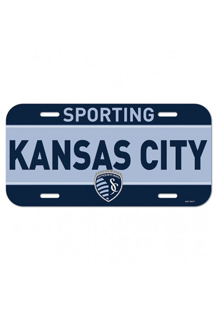 Sporting Kansas City Plastic Car Accessory License Plate - Image 1