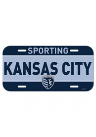 Sporting Kansas City Plastic Car Accessory License Plate
