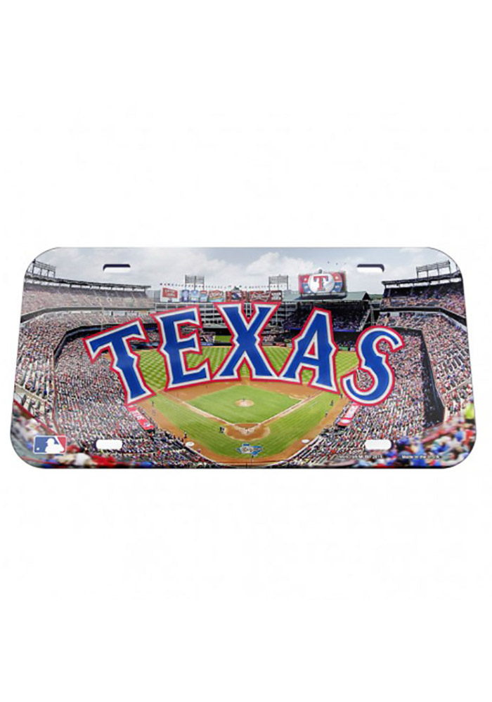 Texas Rangers Stadium Mirror Car Accessory License Plate - Image 1