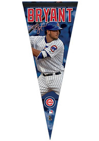 Chicago Cubs 12x30 Vertical Player Premium Pennant
