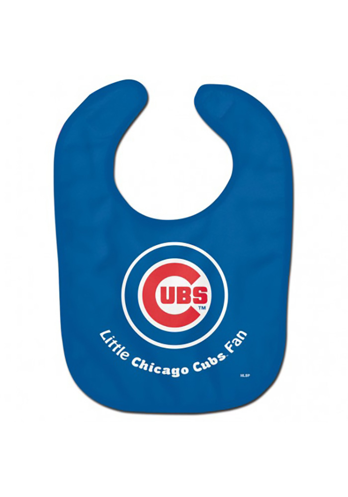 Chicago Cubs All Pro Baby Bib - Image 1