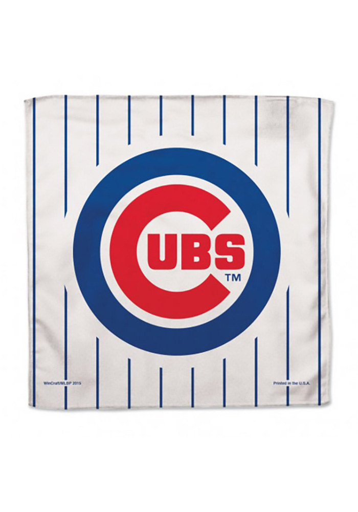 Chicago Cubs Lil Fan Baby Bib - Image 1