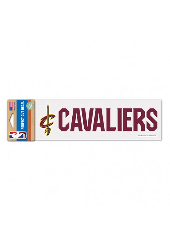 Cleveland Cavaliers Logo and Script Decal - Image 1