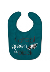 Philadelphia Eagles Baby I Drool Bib - Black