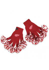 Detroit Red Wings Team Logo Womens Gloves