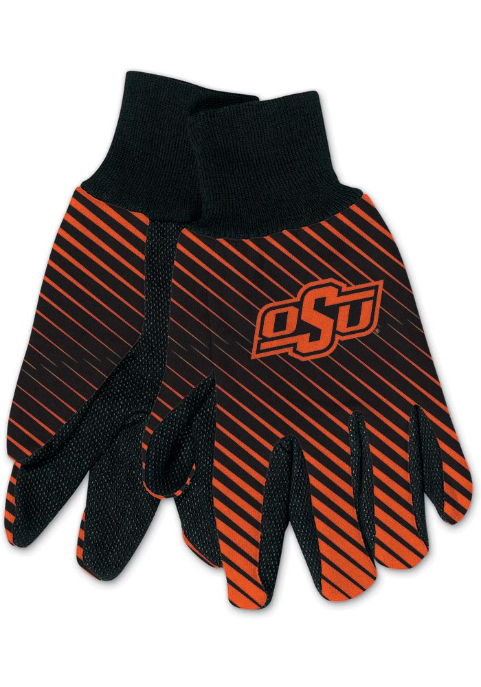 Oklahoma State Cowboys Utility Mens Gloves - Image 1