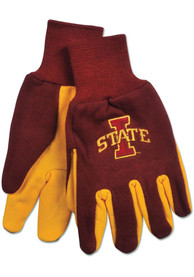 Iowa State Cyclones 2tone Gloves - Red
