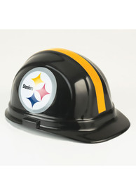 Pittsburgh Steelers Team Logo Hard Hat - Black