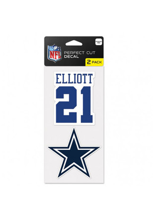 Dallas Cowboys 2 Pack Player Decal