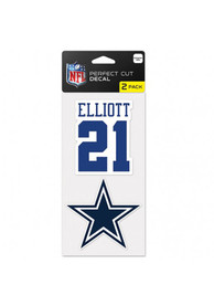 Dallas Cowboys 2 Pack Player Auto Decal - Navy Blue