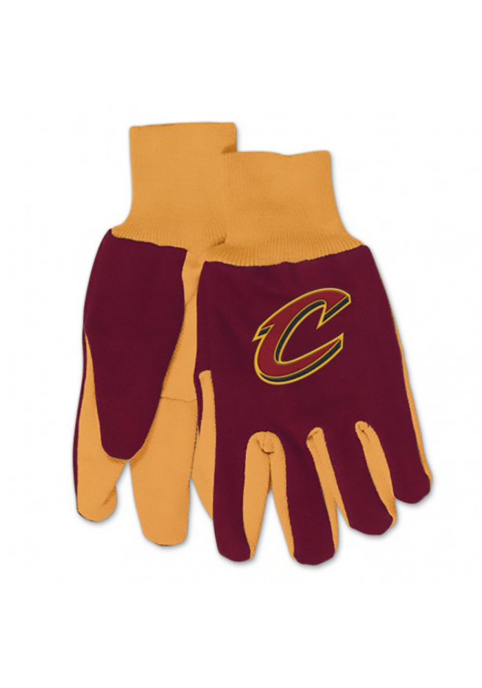 Cleveland Cavaliers 2Tone Mens Gloves - Image 1