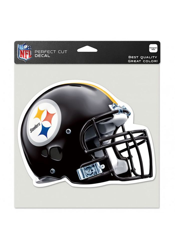 4c01100fc46 Pittsburgh Steelers 8x8 Perfect Cut Auto Decal - Black - 5715050