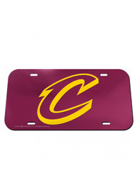 Cleveland Cavaliers Crystal Mirror Car Accessory License Plate