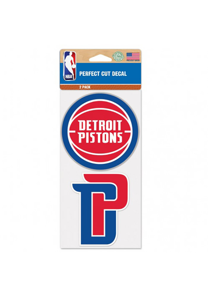 Detroit Pistons Perfect Cut Decal - Image 1