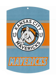 Kansas City Mavericks 11x17 Sign