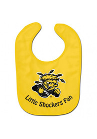 Wichita State Shockers Baby All Pro Bib - Yellow