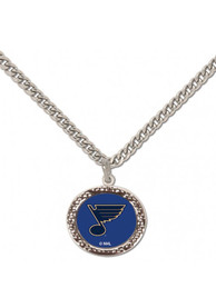 St Louis Blues Womens Hammered Necklace - Blue