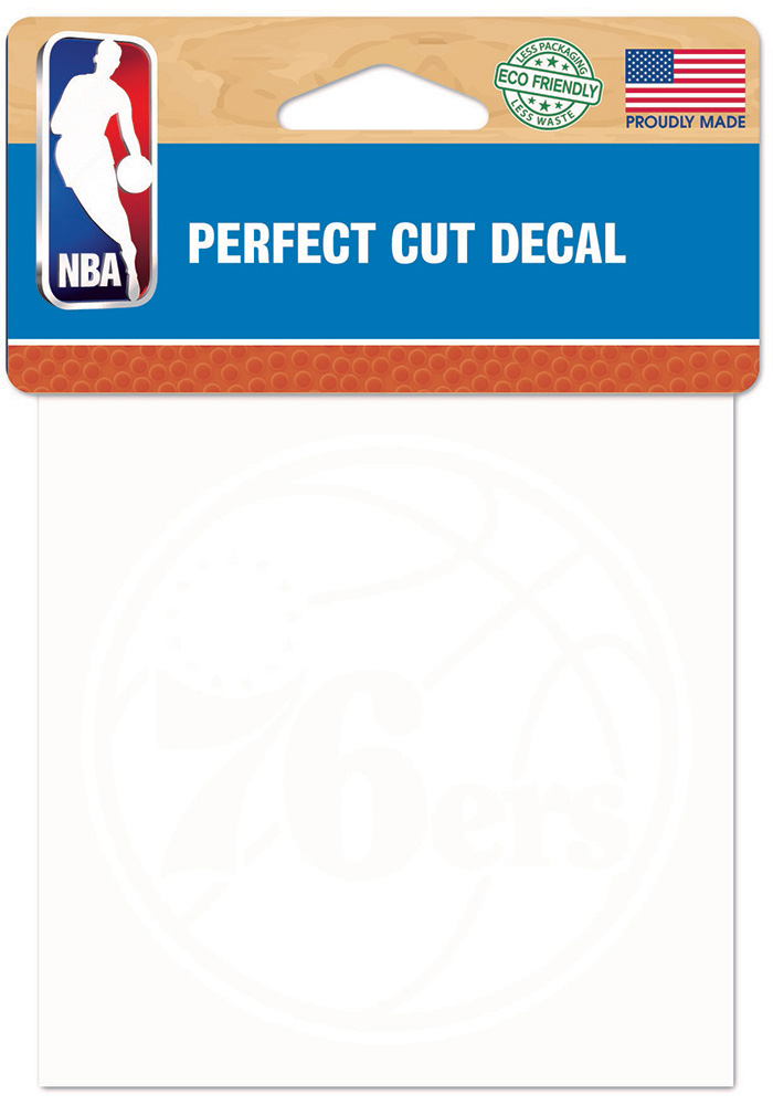 Philadelphia 76ers Perfect Cut Decal - Image 1