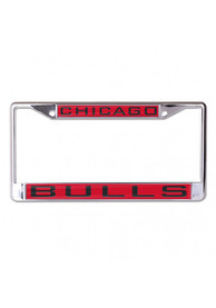 Chicago Bulls Inlaid License Frame