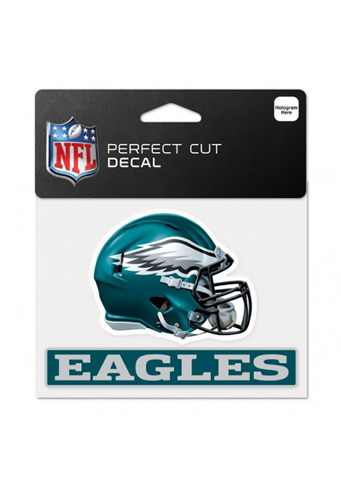 Philadelphia Eagles Perfect Cut 4.5X5.75 Auto Decal - Midnight Green - Image 1