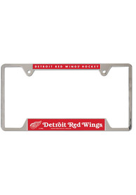 Detroit Red Wings Thin Metal License Frame