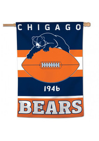 Chicago Bears 28x40 inch Retro Logo Vertical Banner