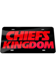 Kansas City Chiefs Kingdom Car Accessory License Plate