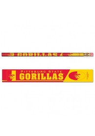 Pitt State Gorillas 6 pack Pencil