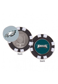 low priced ac3ad 28e20 Philadelphia Eagles Poker Chip Golf Ball Marker