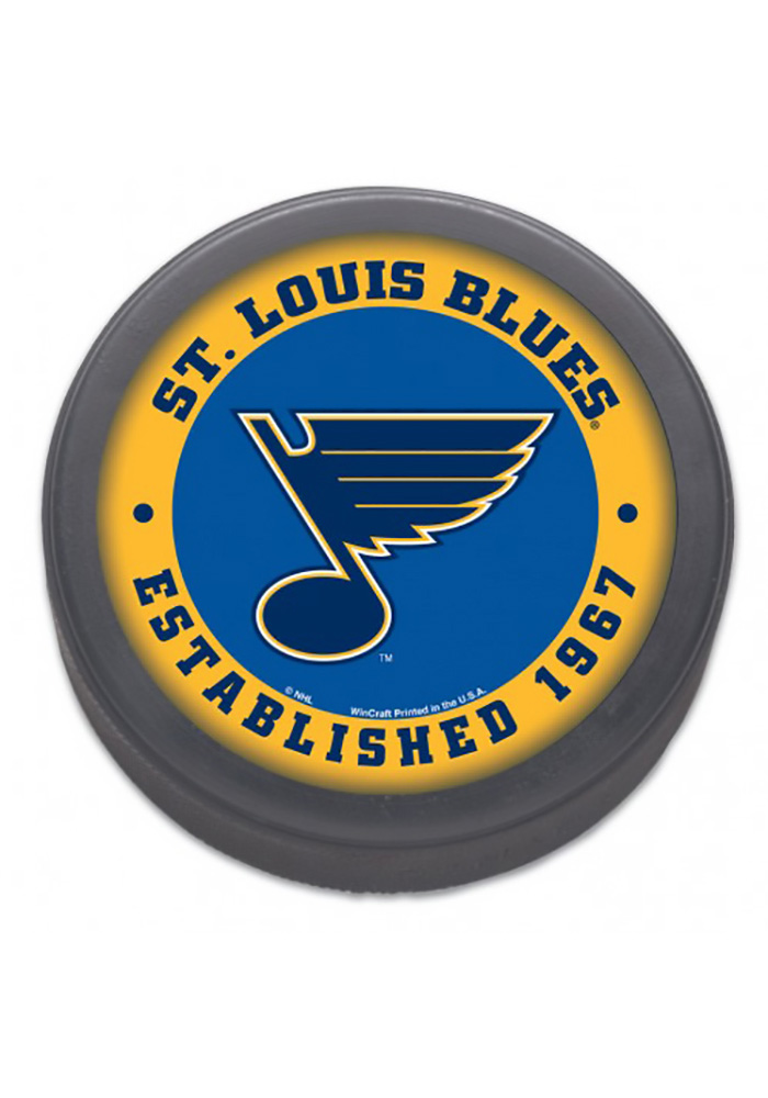 St Louis Blues Classic Hockey Puck - Image 1