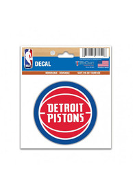 Detroit Pistons Multi Use Auto Decal - Red