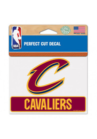 Cleveland Cavaliers Perfect Cut Auto Decal - Maroon