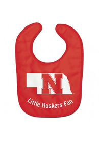 Nebraska Cornhuskers Baby All Pro Bib - Red
