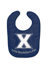 Xavier Musketeers Baby All Pro Bib - Navy Blue