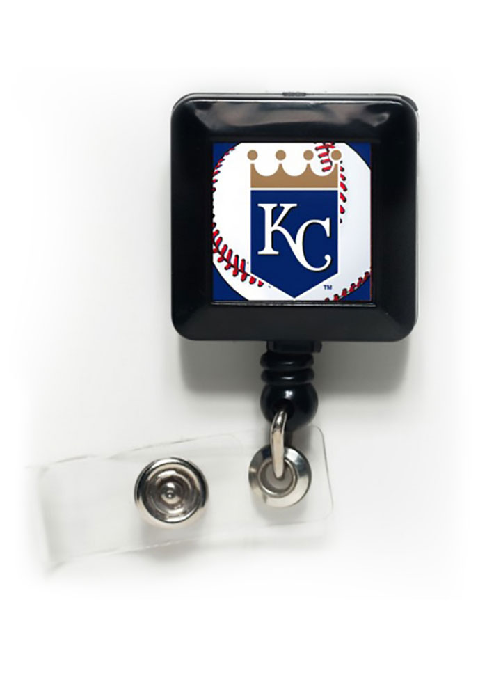 Kansas City Royals One-Sided Retractable Badge Holder - Image 1