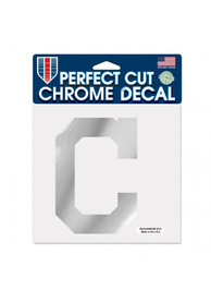 Cleveland Indians 6X6 Auto Decal - Red