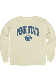 Penn State Nittany Lions Womens College Arch Ivory Crew Sweatshirt