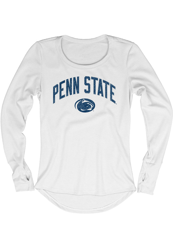 Penn State Nittany Lions Womens Thermal White T-Shirt