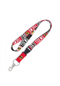 Chicago Blackhawks 1 inch Lanyard