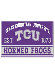 TCU Horned Frogs 2.5 x 3.5 inch Magnet