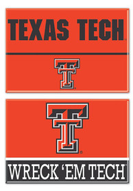 Texas Tech Red Raiders 2 Pack Rectangle Magnet