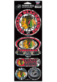 Chicago Blackhawks 4x11 Prismatic Stickers