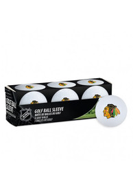 Chicago Blackhawks 3 PK Golf Balls