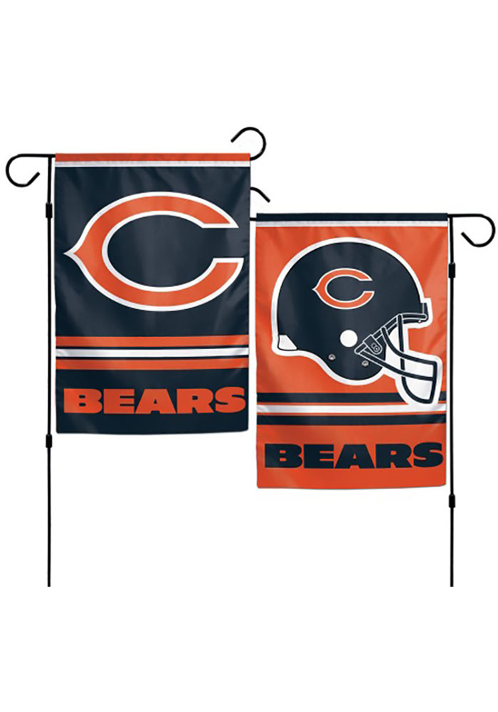 Chicago Bears 12x18 inch 2-Sided Garden Flag - Image 1