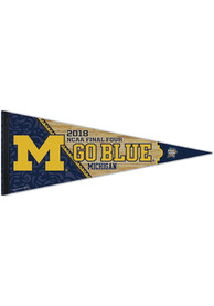 Michigan Wolverines 2018 Final Four 12x30 Pennant