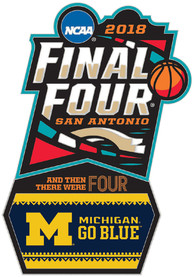Michigan Wolverines 2018 Final Four Collector Pin