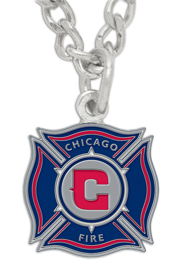 Chicago Fire Logo Womens Necklace - Image 1