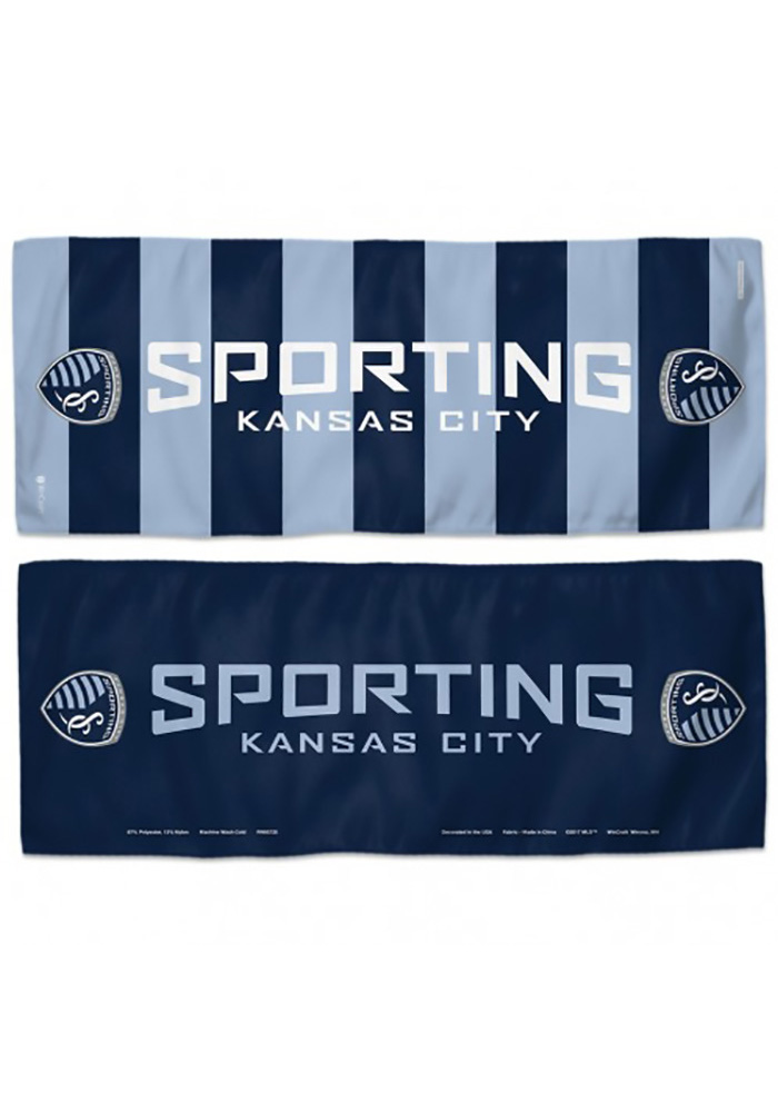Sporting Kansas City 2-sided 12 X 30 Cooling Towel - Image 1