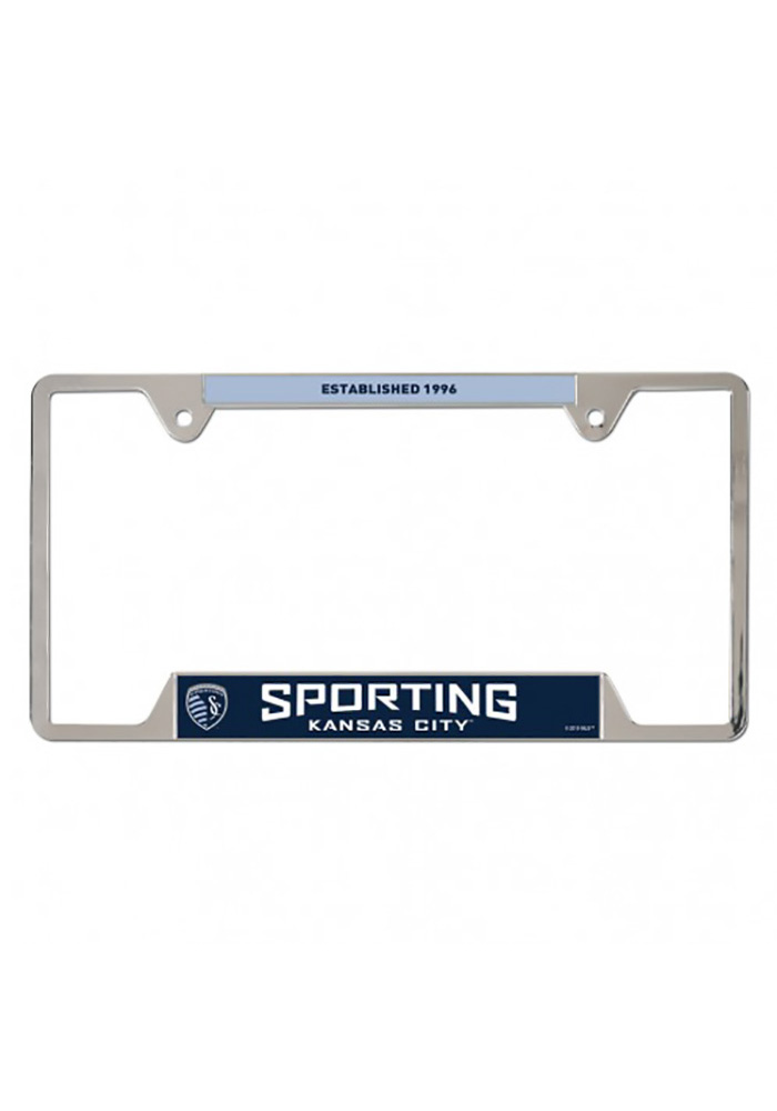 Sporting Kansas City Metal License Frame